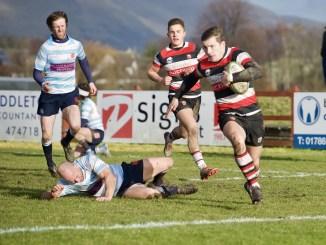 Stirling County v Edinburgh Accies