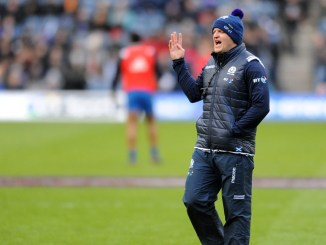 Gregor Townsend made a late call to switch Grieg Laidlaw to stand-off during the final 116 minutes of yesterday's match. The gamble paid off.