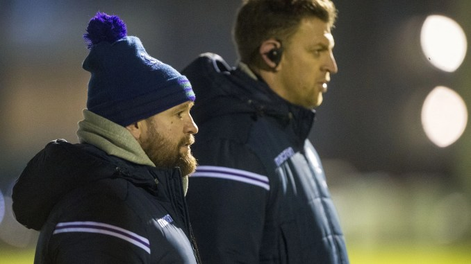 Head coach Stevie Scott [left] was not involved in the incident but assistant Nikki Walker [right] has been suspended.