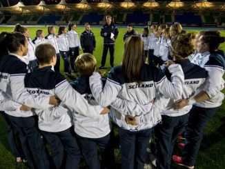 The Scotland Women's Rugby squad