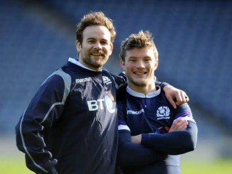 Glasgow's Ruaridh Jackson (left) and George Horne are both in the Scotland Sevens squad