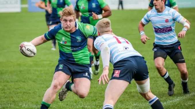Johnny Matthews Boroughmuir v Edinburgh Accies