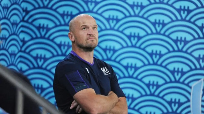 Gregor Townsend is looking to the heavens to do Scotland a favour this weekend.