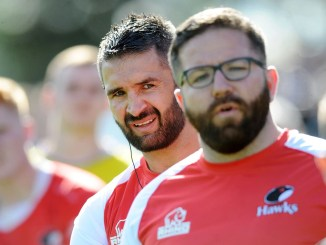 Glasgow Hawks coach Andy Hill believes his team are playing with a new found confidence after tough start to the season. Image: David Gibson