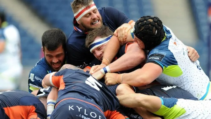 Edinburgh will have a chance to demonstrate the strength in depth of their squad against Agen this weekend. Image: Fotosport/David Gibson