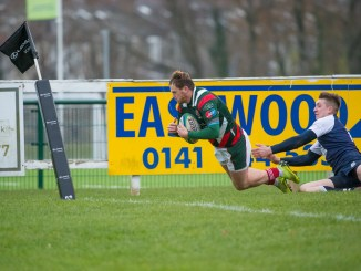 GHA came up short despite Ruari O'Keefe's try in the corner. Image: Colin Robinson
