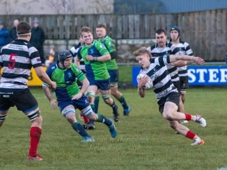 Kelso have hit a rich vein of form at home, backing up their win over Heriot's last month with a success against Boroughmuir on Saturday. Image: Gavin Horsburgh
