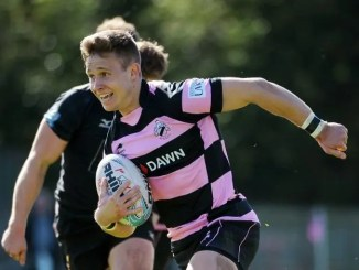 Kyle Rowe in action for Ayr in the BT Premiership last season. Image: ©Fotosport/David Gibson