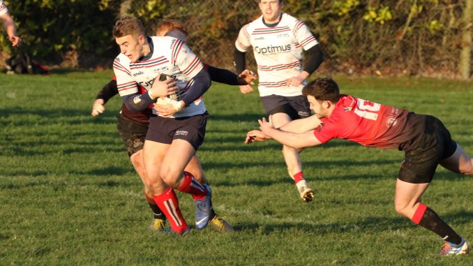 Aberdeen Grammar versus Glasgow Hawks was the only Premiership game to survive the frost this weekend. Image: Howard Moles