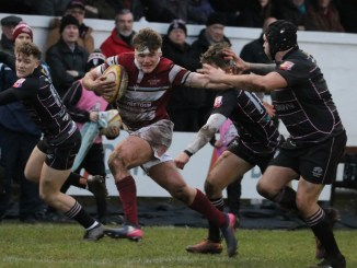 Watsonians' winning start to the season hit the buffers against Ayrshire Bulls at Millbrae. Image: Graham Gaw