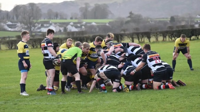 Dumfries Saints returned to winning ways with a big win over Gordonians. Image: Darren Cruickshank
