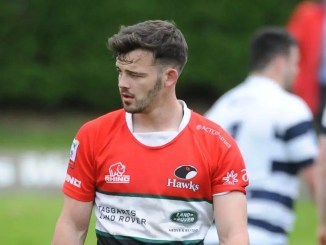 Liam Brims kicked 10 points for Glasgow Hawks to crack the century mark for the season. Image: ©Fotosport/David Gibson