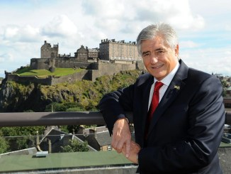 Former Scotland great Andy irvine believes his fellow full-back can be a big success as captain if he can keep his cool. Image: David Gibson/Fotosport