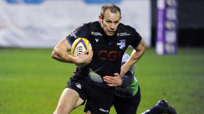 Fraser Thomson was in vintage form for Southern Knights against Boroughmuir Bears. Image: Fotosport/David Gibson