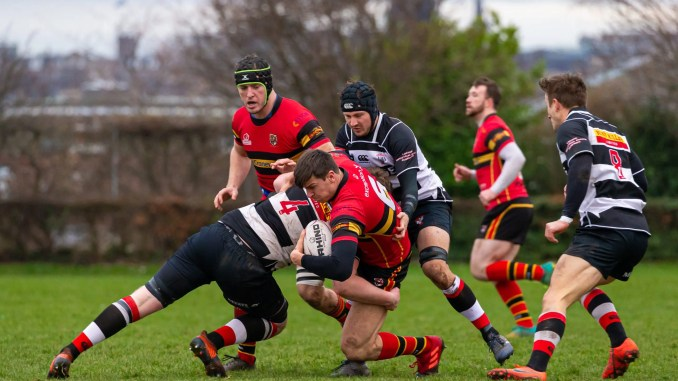 Stewart's Melville are now top of the National Two table. Image: Jax MacKenzie Photography
