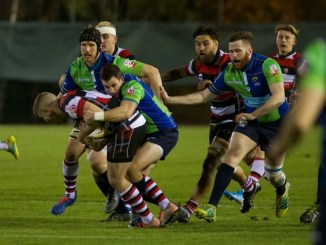 Super6 launched with a narrow Stirling County win over Boroughmuir Bears at Meggetland. Image: Bryan Robertson