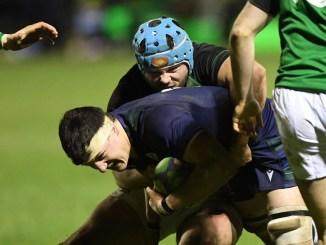 Jamie Sole has dropped out of the Scotland Club XV for this weekend's match due to a head knock. Image: ©Craig Watson