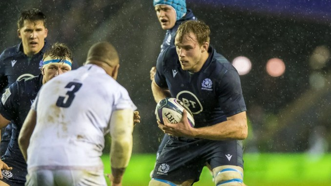 Jonny Gray has been ruled out of the remainder of this Six Nations campaign after picking up a hand injury against England. Image: © Craig Watson - www.craigwatson.co.uk