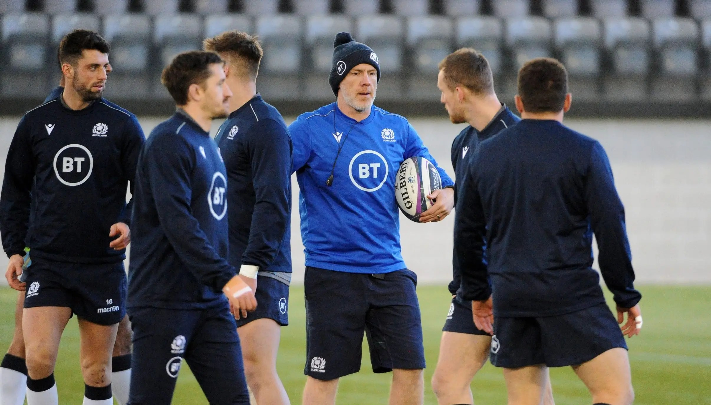 Scotland v England: Townsend and Russell in dialogue, says Steve Tandy