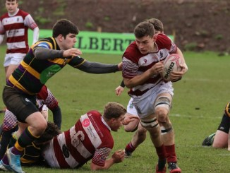 Watsonians and Cartha Queens Park played out a draw at Myreside on Saturday. Image: Graham Gaw