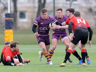 Conor Bickerstaff is still top try scorer in the league with 11. Image: Kenneth Ferguson