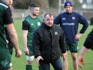 George Graham always let his Hawick players know exactly what was on his mind. Image: Fotosport/David Gibson
