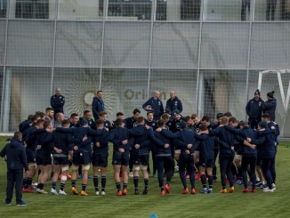 The Scotland squad are back in camp preparing to face France on Sunday. Image: © Craig Watson - www.craigwatson.co.uk