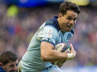 Sean Maitland scored two tries for Scotland against France.