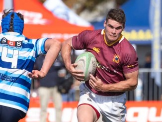 Jordan Venter is only 17 but appears to have the physicality required to adapt quickly into the senior game.