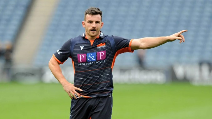 Matt Scott has left Edinburgh to join Leicester Tigers. Image: Fotosport/David Gibson