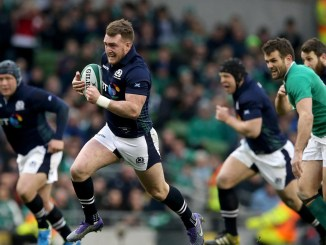 Footage of Stuart Hogg's try against Ireland during the 2016 Six Nations makes Elena's cut- would it be in your list of favourite YouTube clips?Image: Fotosport/Ryan Byrne