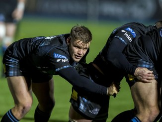 George Turner in action for Glasgow Warriors. Image: ©Craig Watson