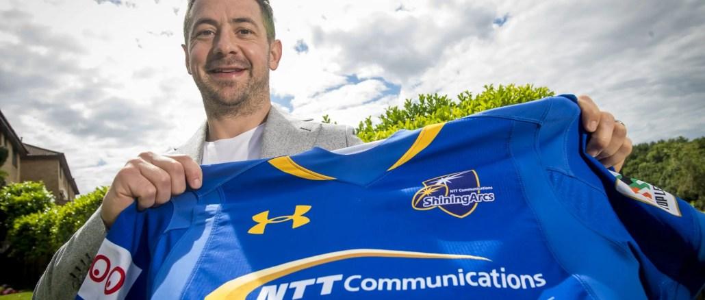 Greig Laidlaw announces his signing with Japanese club NTT Communications Shining Arcs Rugby Football Club. Image: © Craig Watson - www.craigwatson.co.uk