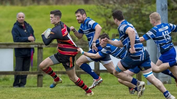 Whitecraigs versus Stewart Melville last season. Image: © Craig Watson - www.craigwatson.co.uk
