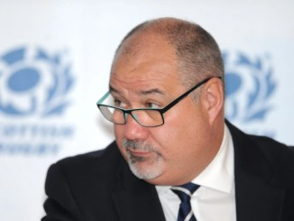 Scottish Rugby chief executive Mark Dodson is determined that no redundancies will result from the Covid-19 pandemic. Image: Fotosport/David Gibson