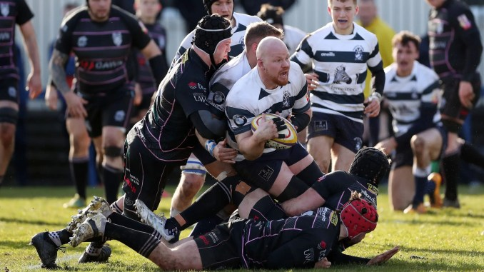 Heriots Rugby versus Ayr Bulls during last year's inaugural Super6 campaign. Image: FOTOSPORT/DAVID GIBSON