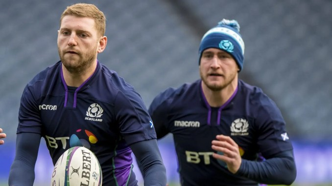 Finn Russell and Stuart Hogg are on the five player short-list for 2020 European Player of the Year. Image: © Craig Watson - www.craigwatson.co.uk