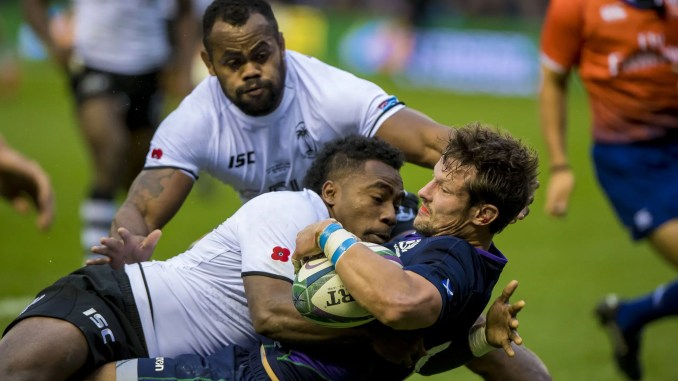 Scotland will welcome Fiji back to Murrayfield in the Nations Cup on 28th November. Image: © Craig Watson - www.craigwatson.co.uk