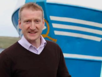 Tavish Scott is leaving Scottish Rugby to take up a role in the salmon industry. Image courtesy: Shetland Times