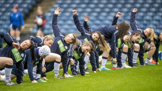 The Scotland Women training squad are meeting at Oriam this weekend. Image: © Craig Watson - www.craigwatson.co.uk