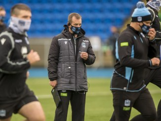 Danny Wilson puts his Glasgow Warriors charges through their paces. Image: © Craig Watson - www.craigwatson.co.uk