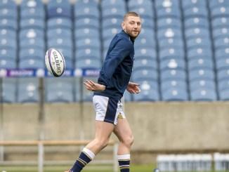 Finn Russell at training with Scotland. Image: © Craig Watson - www.craigwatson.co.uk