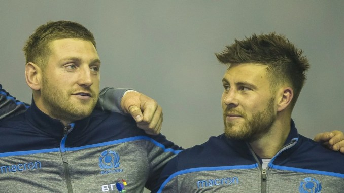 Finn Russell and Ali Price are set to play alongside each other this Autumn for the first time in over a year. Image: © Craig Watson - www.craigwatson.co.uk