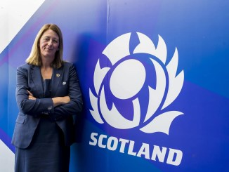 Dee Bradbury became the first female President of a Tier 1 rugby nation in 2018. Image: © Craig Watson - www.craigwatson.co.uk