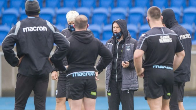 Danny Wilson has handed youngsters Ross Thompson and Rufus McLean their first Glasgow Warriors starts against Edinburgh this weekend. Image: © Craig Watson - www.craigwatson.co.uk