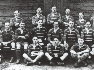 Musselburgh RFC's first ever team in 1921-22