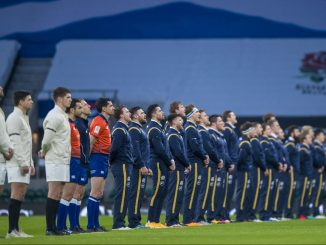 Scotland's players will stand rather than kneel when showing their support for the Rugby Against Racism campaign on Saturday. Image: © Craig Watson - www.craigwatson.co.uk