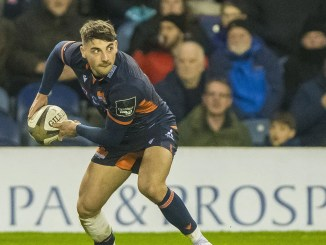 Charlie Shiel, along with Henry Pyrgos, has signed a contract extension with Edinburgh. Image: ©Craig Watson