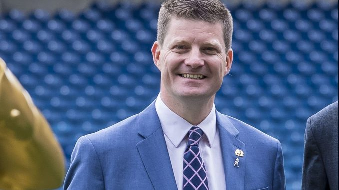 Dominic McKay is leaving Scottish Rugby to become Chief Executive of Celtic Football Club. Image: © Craig Watson - www.craigwatson.co.uk