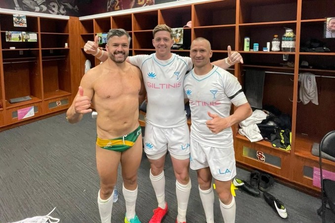 There is a big Australian influence in the squad, with Adam Ashley-Cooper and Matt Giteau two of the star names.